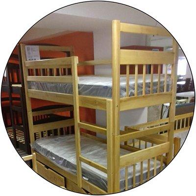 Двухъярусная кровать Колобок