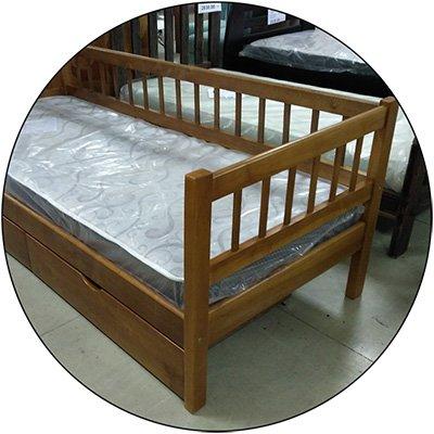 Деревянная кровать Солло