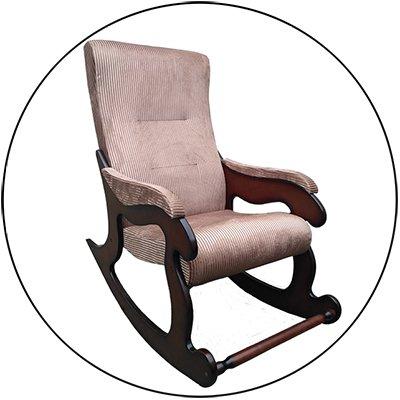 Бюджетное кресло-качалка Уют
