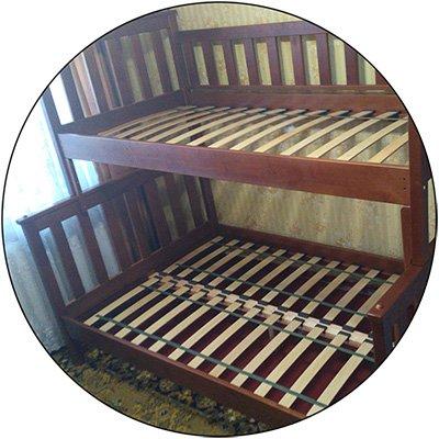 Трехспальная кровать Жасмин