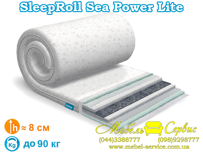 Матрас SleepRoll Sea Power Lite